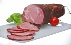 Smoked pork meat Stock Images