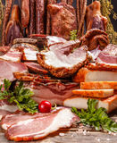 Smoked pork meat Royalty Free Stock Photo