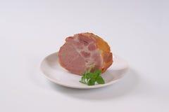 Smoked pork neck Royalty Free Stock Image