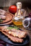 Smoked pork ribs. Stock Photography