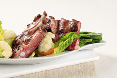 Smoked pork ribs Royalty Free Stock Image