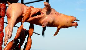 Smoked pork Stock Images