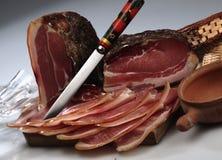 Smoked raw ham Stock Image