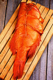 Smoked Red Snapper Fish Stock Photos