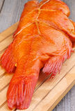 Smoked Red Snapper Fish Royalty Free Stock Images