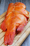 Smoked Red Snapper Fish Royalty Free Stock Photography