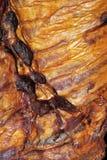 Smoked ribs detail Royalty Free Stock Photos