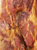 Smoked rustic ham Stock Images