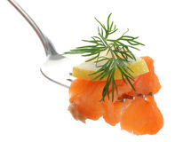 Smoked Salmon Royalty Free Stock Images