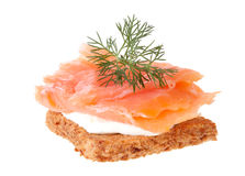 Smoked salmon Royalty Free Stock Photo