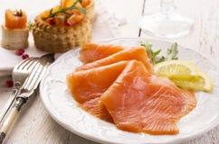Free Smoked Salmon Royalty Free Stock Image - 38409596