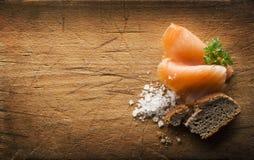Free Smoked Salmon Stock Photography - 47248922