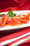 Smoked salmon for Christmas Royalty Free Stock Images