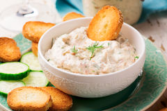 Smoked Salmon  Dip. Royalty Free Stock Photography