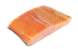 Smoked salmon fillet Royalty Free Stock Photography