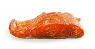 Smoked salmon fillet Royalty Free Stock Image