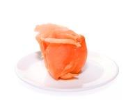 Smoked Salmon isolated on white background. Smoked Salmon isolated on white Stock Photography