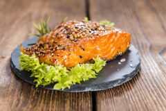 Smoked Salmon Royalty Free Stock Image