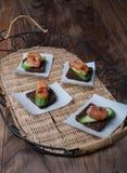 Smoked Salmon Royalty Free Stock Photo