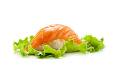Smoked Salmon Sushi Royalty Free Stock Photography