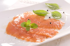 Smoked salmon Stock Images