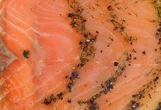 Smoked salmon wallpaper Royalty Free Stock Photos
