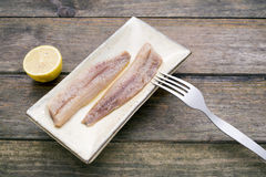 Smoked sardines Royalty Free Stock Photography