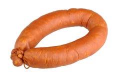 Smoked sausage Royalty Free Stock Images