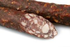 Smoked sausage Stock Image