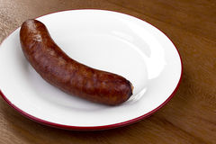 Smoked Sausage Royalty Free Stock Images
