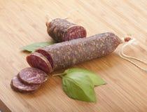 Smoked sausage Stock Photos