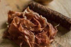 Smoked sausage Royalty Free Stock Image