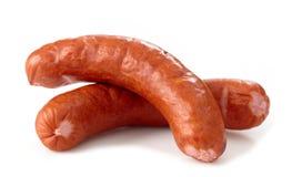 Smoked sausages Stock Photos