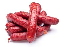 Smoked Sausages. Stock Photography