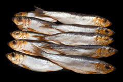Smoked Sprat Royalty Free Stock Image
