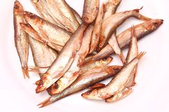 Smoked sprats Stock Photos