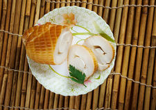 Smoked squid Royalty Free Stock Images