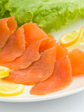 Smoked trout Stock Photography