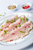 Smoked trout filet Royalty Free Stock Photos