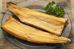 Smoked trout Royalty Free Stock Image