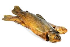 Smoked trouts Royalty Free Stock Photo