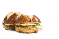 Smoked Turkey Sliders Stock Photography