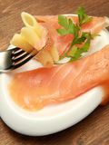 SmokedSalmon Royalty Free Stock Photo
