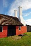 Smokehouse on Bornholm island Royalty Free Stock Images