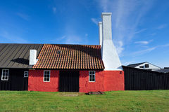 Smokehouse on Bornholm island. Denmark, Europe royalty free stock images
