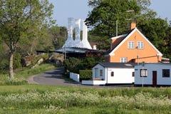 Smokehouse on Bornholm Stock Photography
