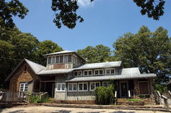 Smokehouse da casa da montanha Foto de Stock