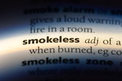 smokeless stock photos