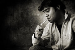 Smoker Royalty Free Stock Photos