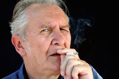 The Smoker 2 Royalty Free Stock Photography